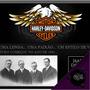 Painel Decorativo A Grande História Harley Davidson Motos +