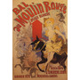 Moulin Rouge Mulheres Cavalo Animal Poster Repro
