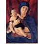 Nossa Senhora Menino Jesus Reproducao De Bellini Na Tela