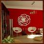 Quadro Decorativo Escultura Parede Flor Mdf Recorte Laser !