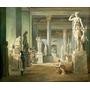 Salão Das Estações Louvre Paris Pintor Robert Tela Repro