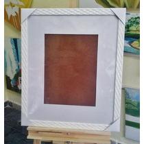 Quadro Assinaturas /40x50cm Para Foto 20x30 Com Margem 10cm