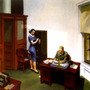 Escritório Trabalho Secretária 1940 Pintor Hopper Tela Repro