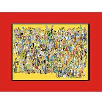 Simpsons - Quadro De Parede 1-5