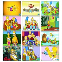 Placas Decorativas Os Simpsons