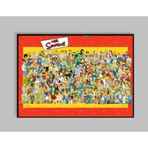 Simpson - Quadro De Parede 1-5