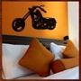 Quadro Moto Escultura Parede Mdf C/ 1 Metro Tamanho P