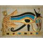 Papiro Egipcio 32x43cm Egito Olho De Hórus Pm16