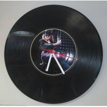 Relógio De Parede Lp Vinil Vitrola Madonna Retro Vintage Cd