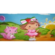 Big Painel Moranguinho Baby - R$49,90 - Melhor Do Ml