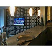 Divisória,painel Mdf Tv Módulo Vazado 50 Cm,cama Box,vitrine