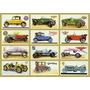 Placa Decorativa, Carros Antigo Diversas Marcas Garagem