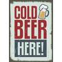 Placas Decorativas Mdf Cerveja Vintage Retro Pinup Bebidas