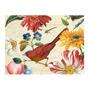 Placa Decorativa Pássaro Vermelho Média