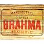 Placa Decorativa Retrô Cerveja P/ Area Gourmet- Frete R$7,00
