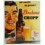 Placa Araçás Vintage Retrô - Brahma Chopp - 1254-5-ps - Mdf