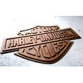 Placa Para Bar E Churrasqueira Em Mdf Harley Davidson