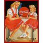 Placa Decorativa Retrô Vintage Coca Cola Bebida Frete Grátis