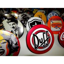 Placa Displa Cerveja Duffl Decoração Retro Parede Mesa