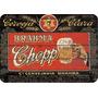 Placa Adesivada Madeira Cerveja Brahma Chopp 28-a X 40-c