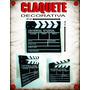 Claquete Decorativa - 30x28 - Universal Studios - Importada