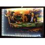 Quadro Led Luminoso Marilyn, Elvis E James Dean, Royal Poker