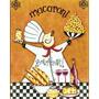 Placas Decorativas Retrô Chefes De Cozinha - Frete Grátis
