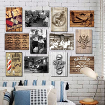 Placas Decorativas Mdf - Retrô Vintage Temas Barbearia Barba