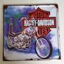 Placa Decorativa Vintage Moto Harley Davidson Motorcyc -pl30