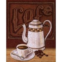Decoração Retro Placa Xicara Café Cozinha - Vintage Novidade