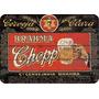 Placa Madeira Cerveja Brahma Chopp Vintage 28 Cm X 40 Cm