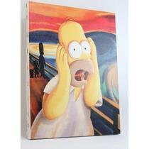 Quadro Simpsons Impressão Em Canvas 30x40