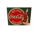 Placas De Metal Com Temas Da Coca-cola Propagandas Antigas