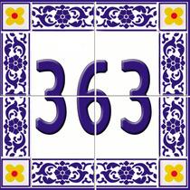 Azulejos,números De Casa, Lar Doce Lar, Azulejos Decorativos