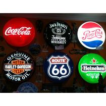 Luminosos Placas Bar Marcas Cerveja N Neon Led Heineken Coca