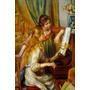 Jovens Garotas Aula De Piano Música Pintor Renoir Tela Repro