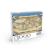 Puzzle 3000 Peças #1 Mapa Mundi 1560