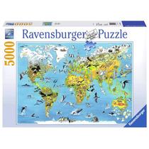 Quebra-cabeça Importado (4357) Puzzle 5000pcs A Terra, Mapa