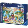 Quebra-cabeça Importado (416) Puzzle 1000pcs- Disney World