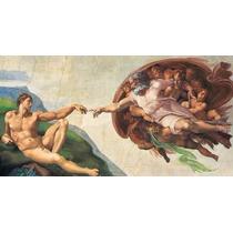 Quebra Cabeça Imp 13.200 Peças Michelangelo Criação De Adão