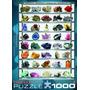 Quebra-cabeças - Minerais Do Mundo 1000 Pedaço