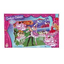Quebra-cabeça Barbie E As Sapatilhas Magicas - 100 Peças -