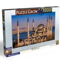 Brinquedo Novo Quebra Cabeça Grow 3000 Peças Mesquita Azul