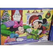 Quebra Cabeça Disney 200 Peças Presente De Natal Infantil