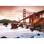 Quebra Cabeça Puzzle 500 Pçs Ponte Golden Gate San Francisco