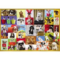 Puzzle 5000 Peças Grow Happy Dogs Quebra Cabeça