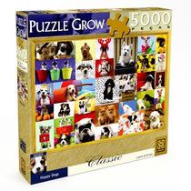 Quebra Cabeça - Puzzle - Happy Dogs - 5000 Peças - Novo