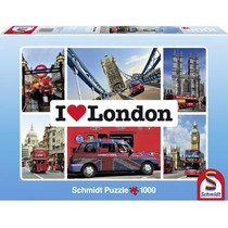Quebra-cabeça Importado (5212) Puzzle 1000pcs- I Love London