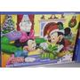 Quebra Cabeça Puzzle Disney 200 Peças - Mickey Minnie Natal