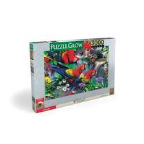 Puzzle Araras Classic 3000 Peças Grow